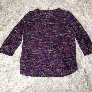 Multicolored Knit Top!